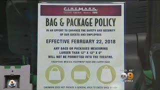 Citing Security Concerns, Cinemark Bans Big Bags At Theatres