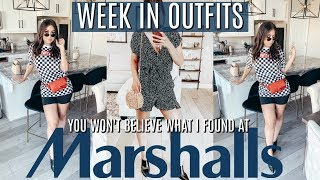 I WORE ONLY MARSHALLS For the WEEK & Come SHOPPING with ME