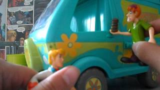 REVIEW maquina misterio scooby doo turma da gosma (the mystery machine)