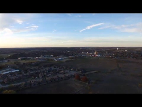 Drone flight over Aledo, TX
