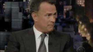 Tom Hanks gets skunked on 'Letterman'