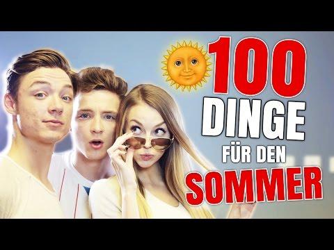 100 DINGE, die ihr DIESEN SOMMER MACHEN könnt (DieLochis)