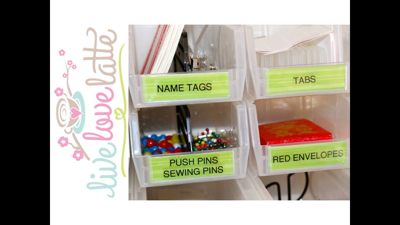 VLOGust 2014: Day 30   Know What You Have: Office Supplies Organization  {how To Organize}   YouTube