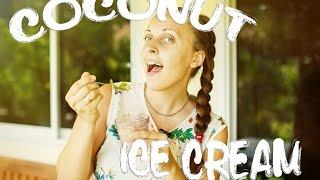 Кокосовое мороженое \\ Coconut ice cream