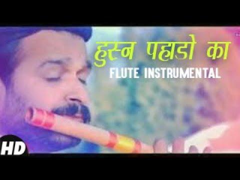 Divine rendition of Husn Pahado ka...|flute version