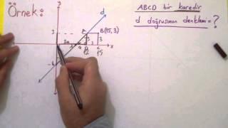 Analitik Geometri 3 - Doğrunun Denklemi Ve Grafiği Şenol Hoca Matematik