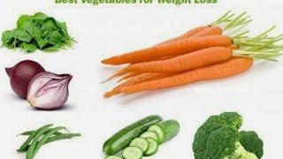 top 10 vegetables for lose weight