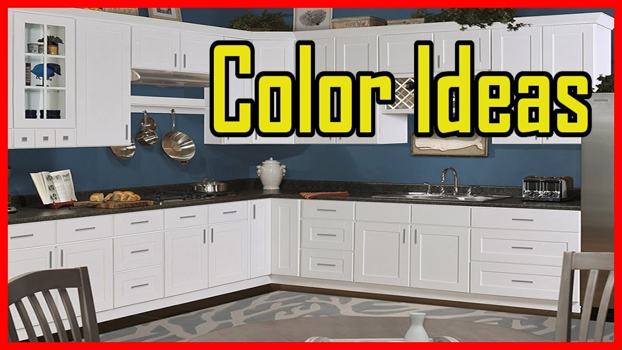 Painting Kitchen Cabinets Color Ideas Youtube