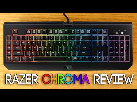 Review: Razer Blackwidow Chroma Keyboard - YouTube
