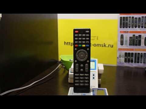 Инструкция по настройке Huayu DVB-T2+3 VER.2018-2 универсальный пульт для цифровых приставок