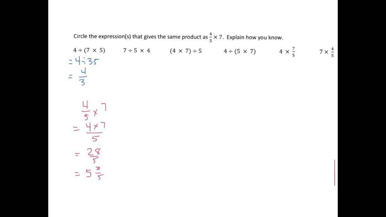small resolution of Expressions with Parentheses (solutions