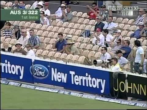 Justin Langer 215 vs New Zealand 2004/05 Adelaide