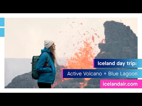 Volcano + Blue Lagoon Iceland: Day trip Reykjanes Peninsula | Icelandair