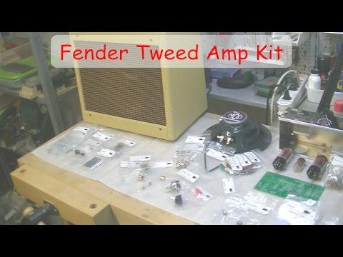 fender tweed champ 5f1 amp clone kit build youtube. Black Bedroom Furniture Sets. Home Design Ideas