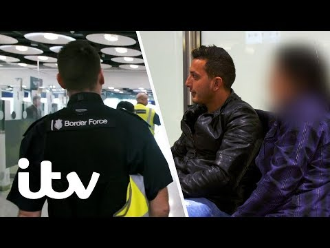 Border Force Try to Stop a Potential Sex Trafficking Situation | Heathrow: Britain's Busiest Airport