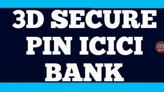how to create 3d secure pin  What is 3D secure  visa and mastercard verify  payment gateway