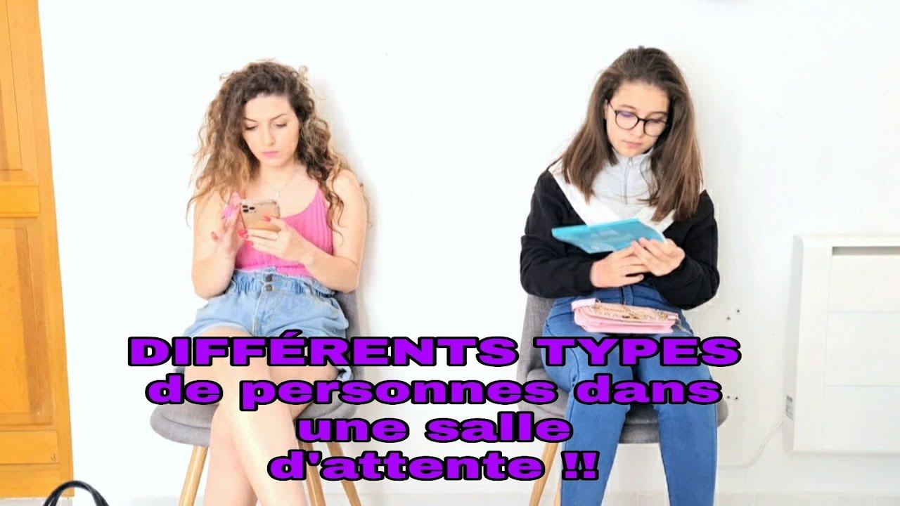 DIFFÉRENTS TYPES DE PERSONNES DANS UNE SALLE D'ATTENTE !!