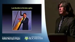 Italian Baroque Organ - Alfredo Colman: The Transplanted Colonial Harp: Master Symbol of Paraguayan