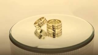 Парные обручальные кольца со слонами(, 2015-02-12T17:25:05.000Z)
