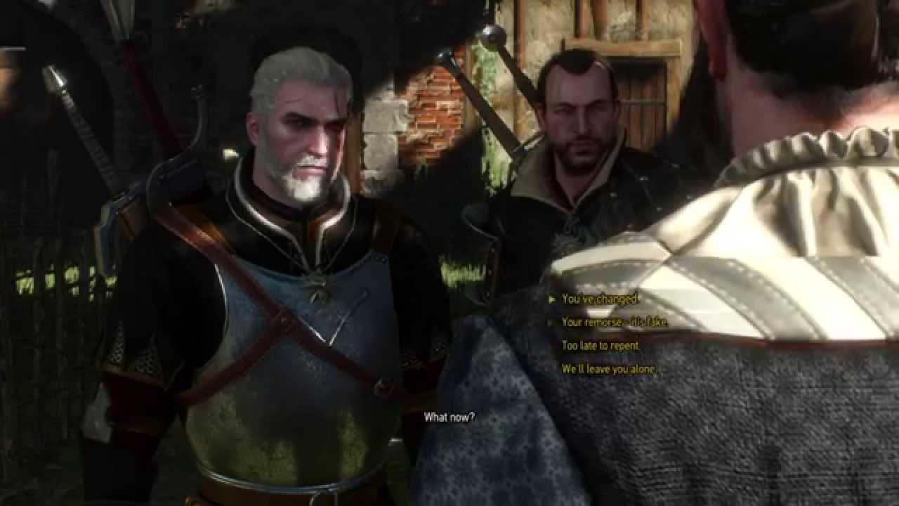 The Witcher 3 Lambert Quest