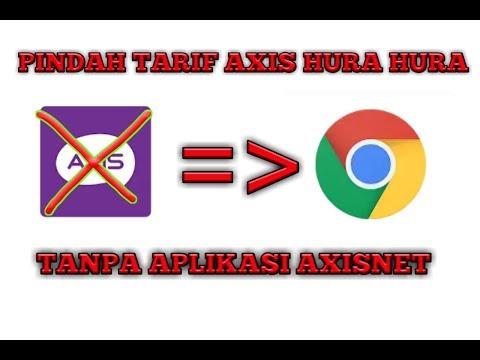 Pindah Tarif Axis Hura Hura Tanpa Aplikasi Axisnet.....!!!!
