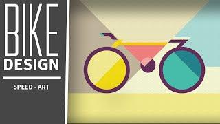 Speed-Art | The Bike | Design #4 | Adobe Illustrator