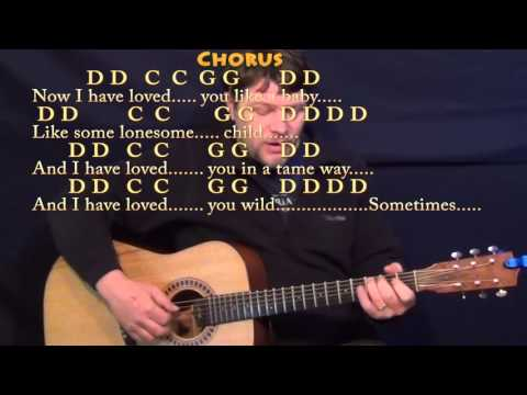 Seven Bridges Road (The Eagles) Fingerstyle Guitar Cover Lesson with Chords/Lyrics