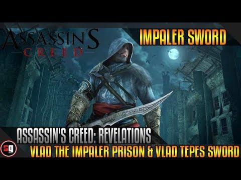 Assassin's Creed: Revelations - Vlad The Impaler's Prison & Vlad Tepes' Sword