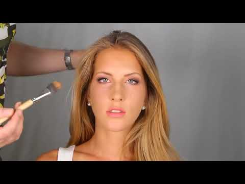 How to Contour LONG and OVAL shaped face makeup tutorial - Contouring and Highlighting
