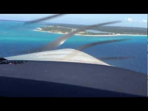 Landing Crooked Island Bahamas