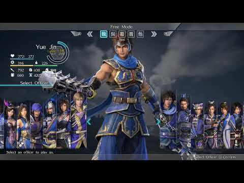 Dynasty Warriors 9 - My Wang Yi and Zhang He builds/build plans