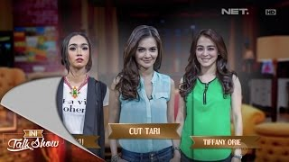 Ini Talk Show 25 Oktober 2014 Part 1/4 - Cut Tari, Tiffany Orie dan Intan Ayu
