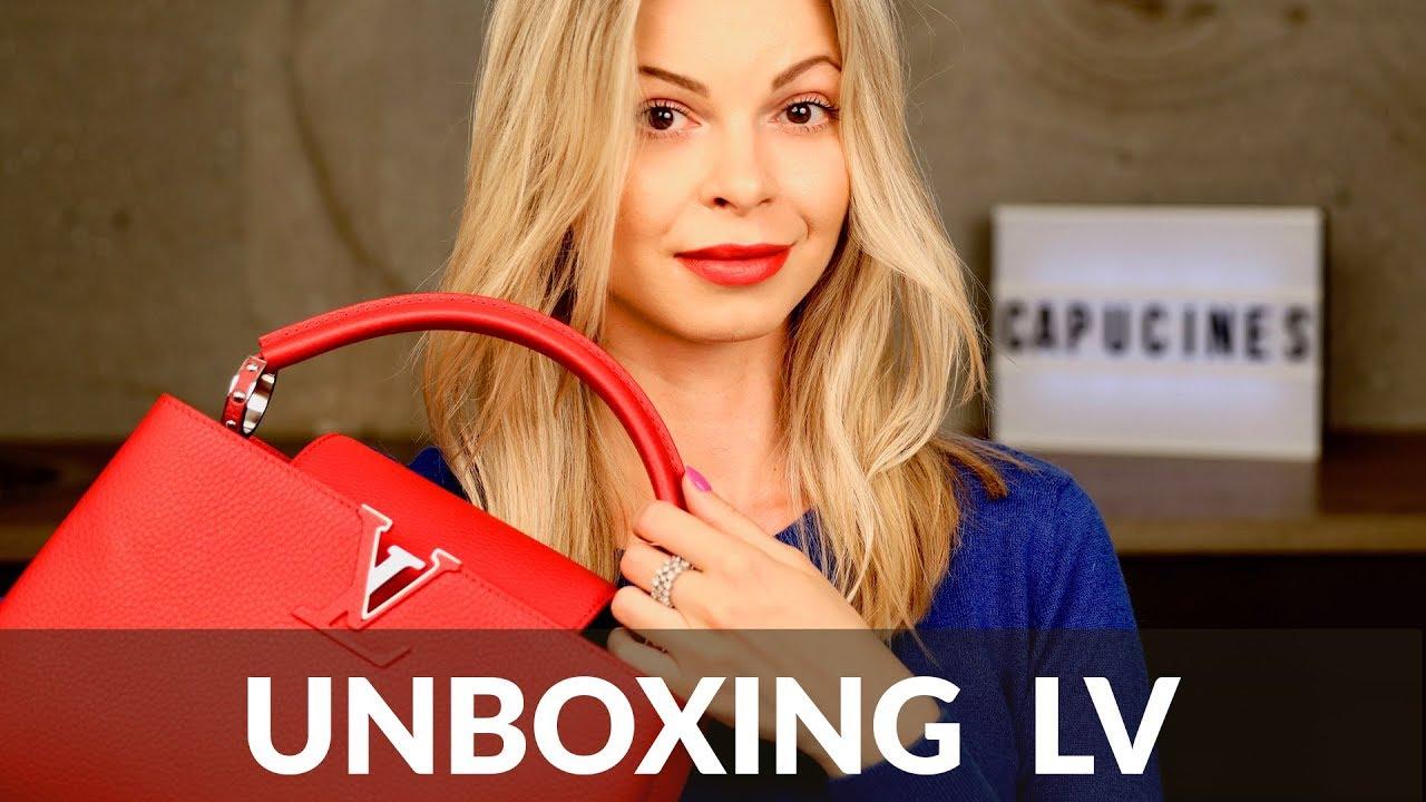 Torebka Louis Vuitton Capucines: unboxing + minirecenzja