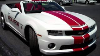 Chevrolet Camaro SS Convertible Indy 500 2011 Videos