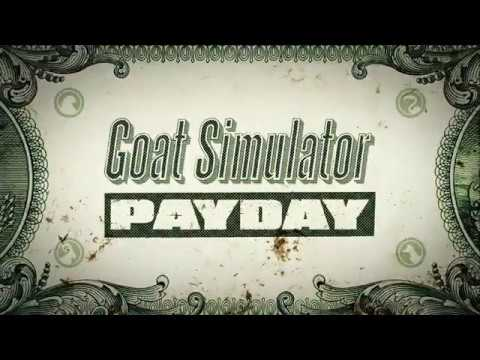 Goat Simulator PAYDAY official mobile trailer
