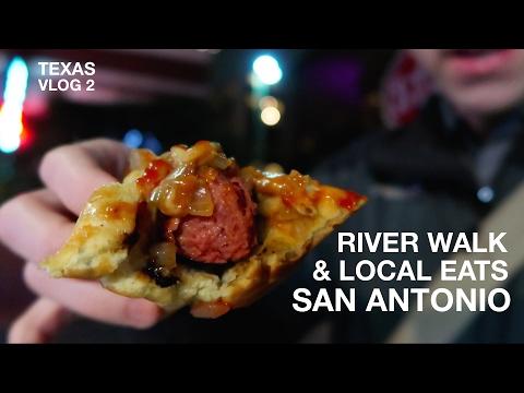 River Walk and Local Eats | San Antonio, TX