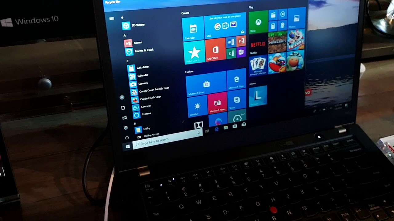 Lenovo Thinkpad T480s privacyguard Laptopid ee CES2019