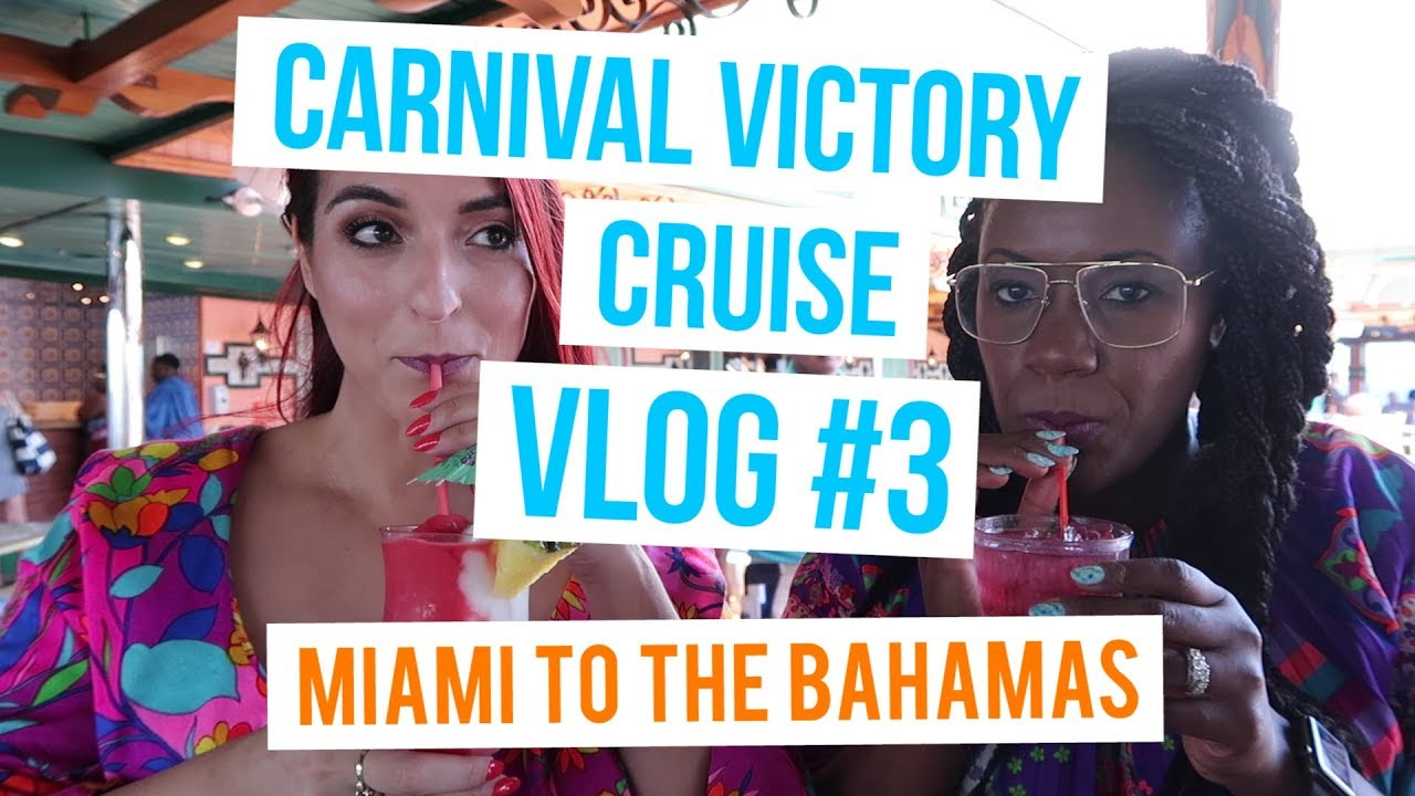 774c047d4139 Miami Carnival Cruise Vlog  3