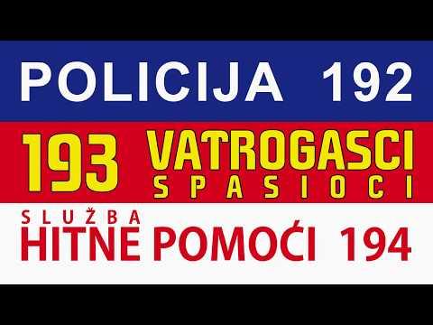 Hitni brojevi pesma - Srđan Merković