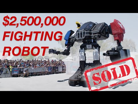 I Sold My $2,500,000 Fighting Robot On Ebay