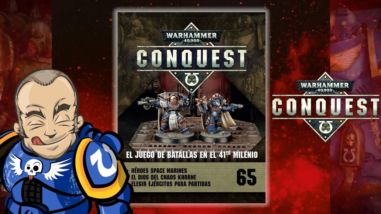 Warhammer 40000 Conquest Salvat Número 65