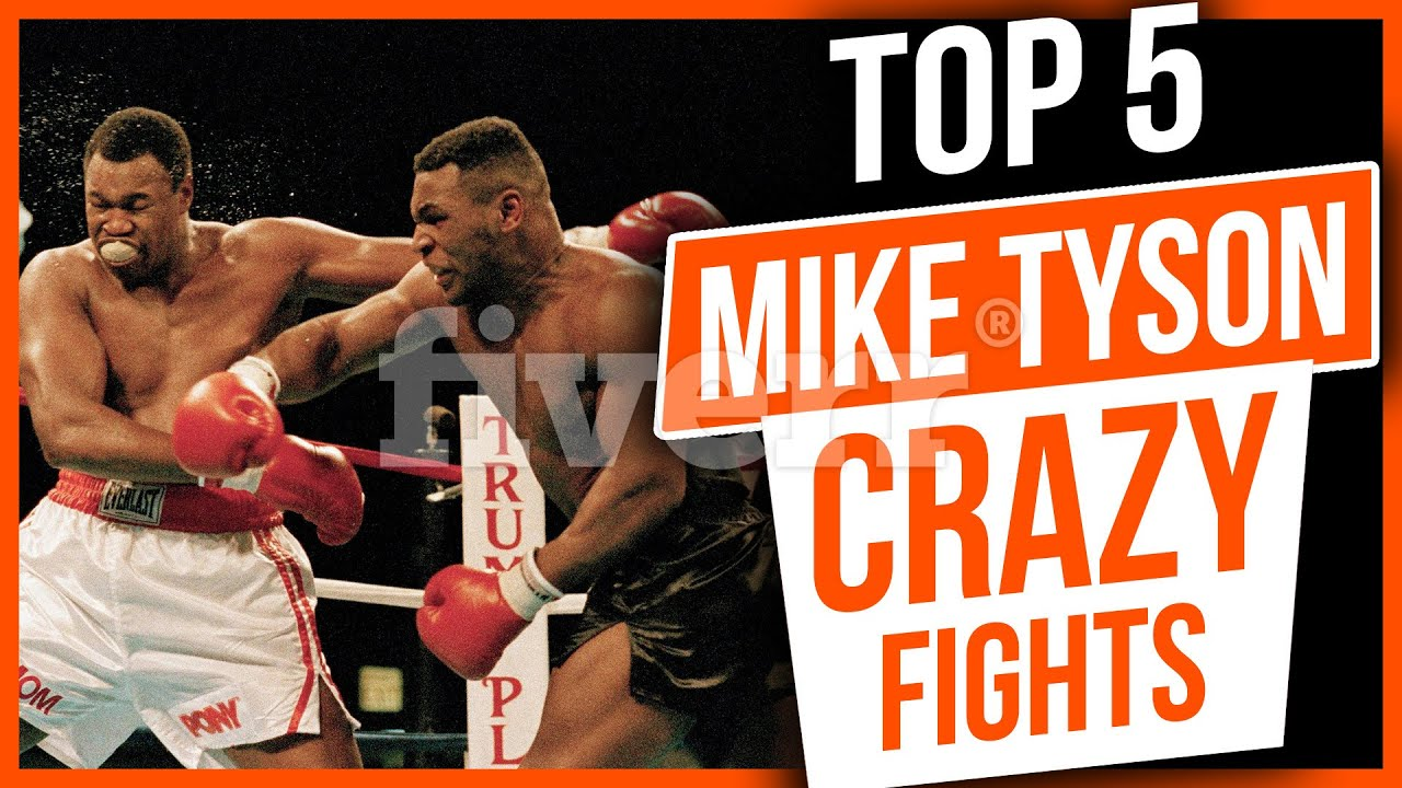 Download Top 5 Mike Tyson Most Crazy and Unbelievable Fights