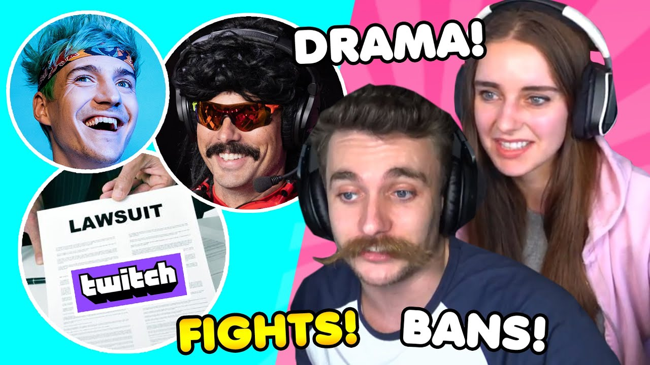 Twitch Lawsuit, DrDisrespect BANNED, Ninja x XQC FIGHT! | ALL IN episode #24