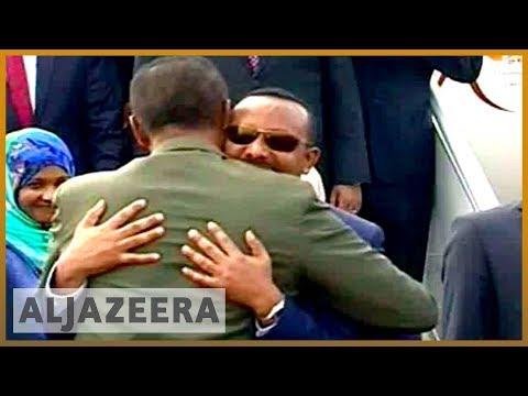 🇪🇹 🇪🇷 Ethiopia's PM Abiy Ahmed in Eritrea for landmark visit | Al Jazeera English