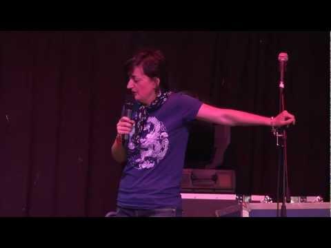 Zoe Lyons ( Comedy Sessions) Live @ GO.GO Festival 2011