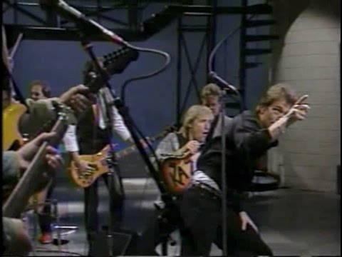 Huey Lewis & The News on Late Night, April 30, 1987
