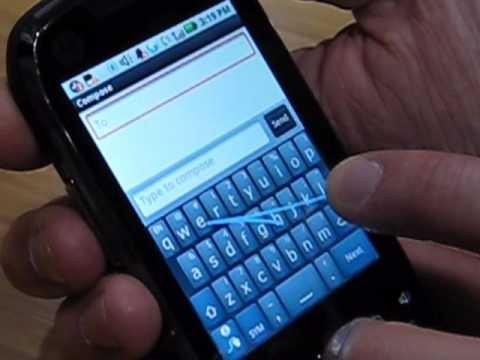 Motorola i1 at CTIA 2010
