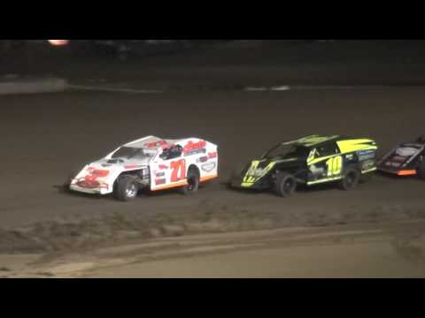 Albert Auto Night Modified feature Independence Motor Speedway 9/17/16