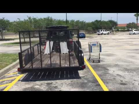 How to STEER DRIVE a Trailer WHEN BACKING UP + tip