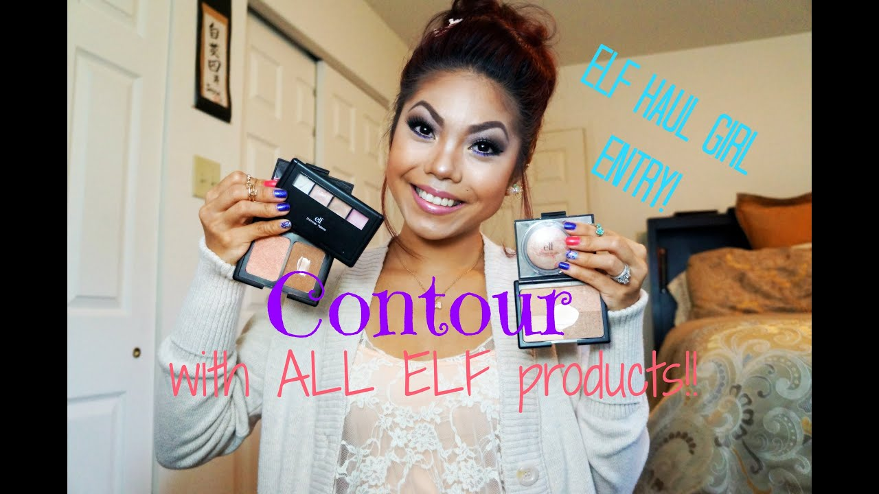 Contour Using All Elf Products!